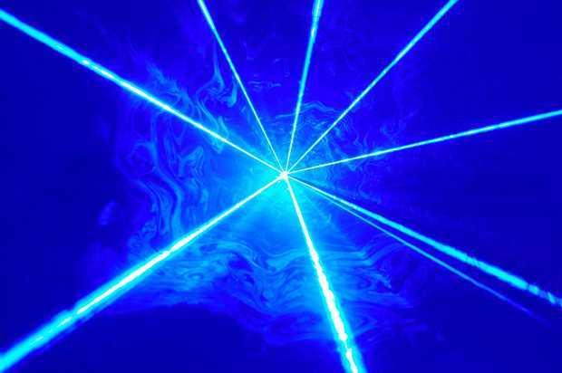 青レーザーポインター