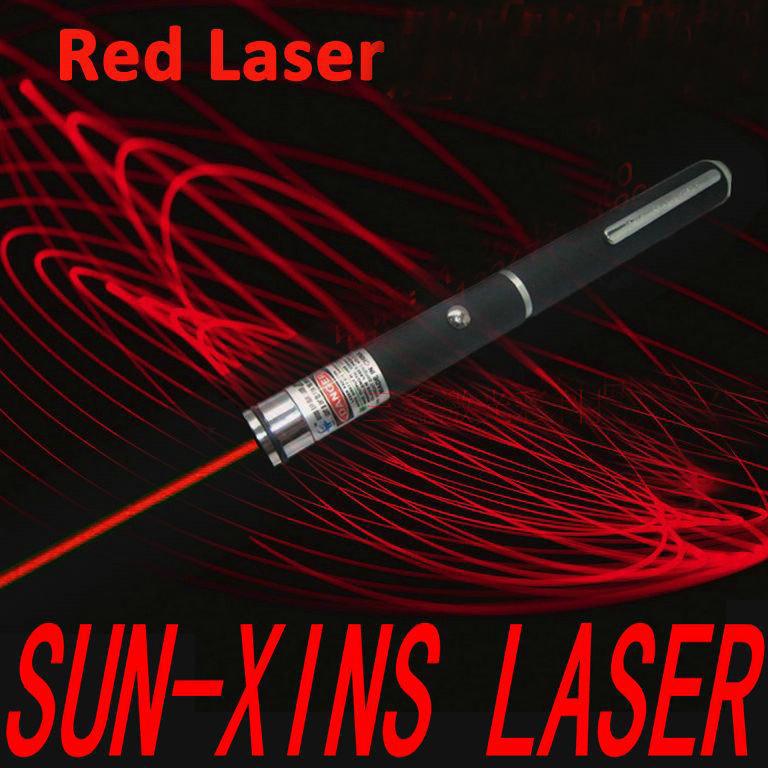 赤色レーザーポインター