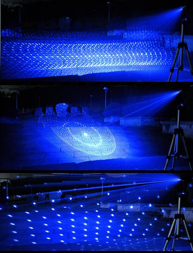 超強力青色レーザーポインター