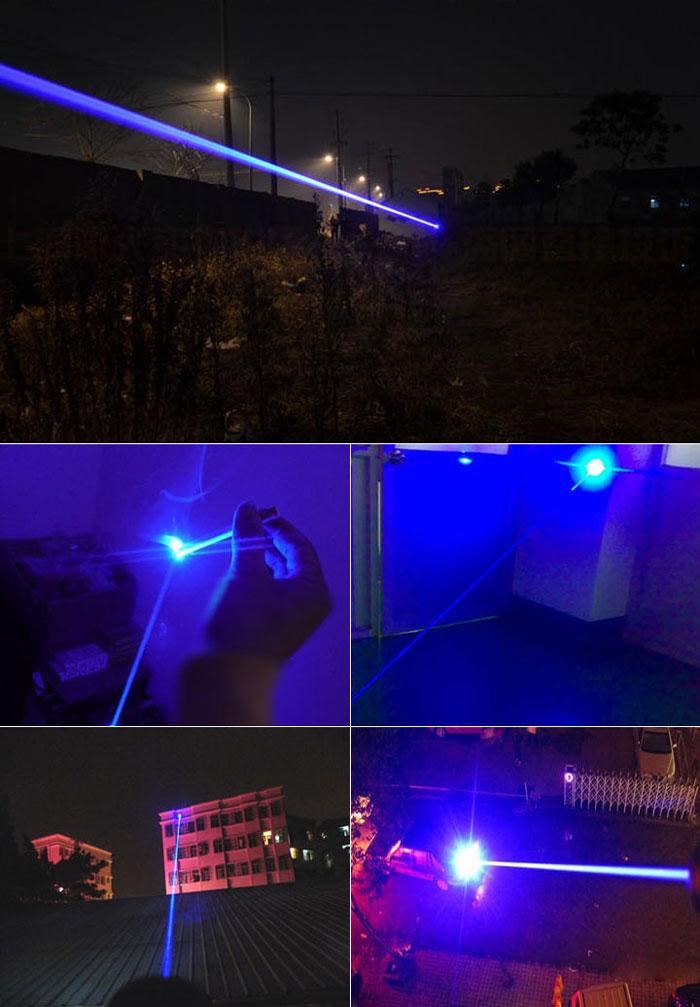 青色30W強力 レーザーポインター