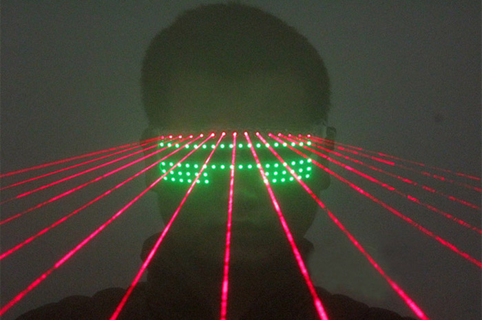 LEDメガネ