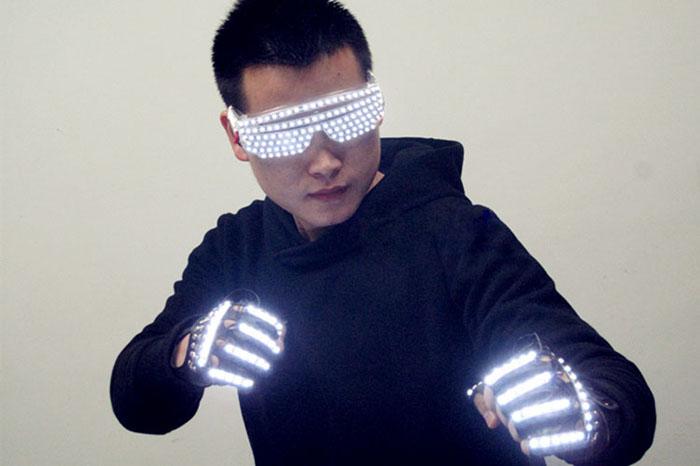 ステージ LED発光眼鏡