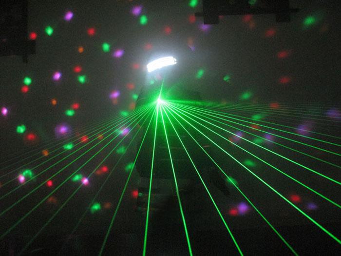 LED発光レーザー眼鏡