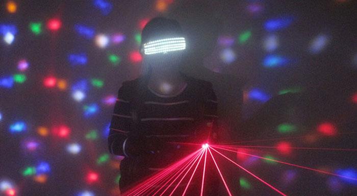 led ライト発光眼鏡