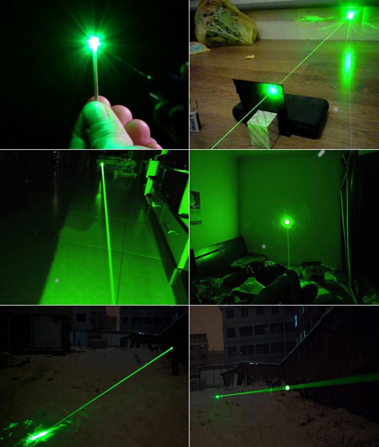 超強力10000mw(10w)532nmレーザーポインター 緑色